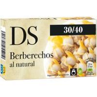 Berberecho 30/40 piezas DS, lata 58 g