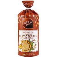 Tortitas multicereales DIET RADISSON, paquete 130 g