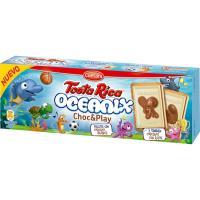 Galleta Tosta Rica Oceanix choc&play CUETARA, caja 115 g