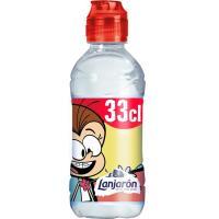 Agua mineral sport kid LANJARON, botellín tapón sport 33 cl