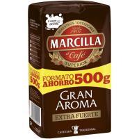 Café molido extrafuerte MARCILLA, paquete 500 g
