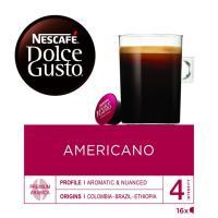 Café americano NESCAFÉ Dolce Gusto, caja 16 monodosis