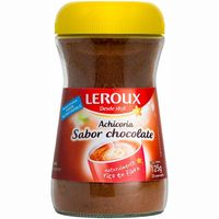 Achicoria soluble sabor chocolate LEROUX, frasco 125 g