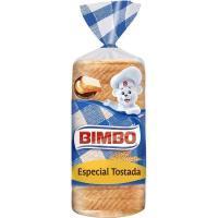 Pan blanco familiar rebanada gruesa BIMBO, paquete 750 g