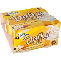 Dalky de vainilla-caramelo LA LECHERA, pack 4x100 g