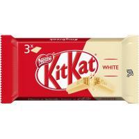 Kit Kat de chocolate blanco NESTLÉ, pack 3x41,5 g