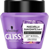 Mascarilla liso asiatico GLISS, tarro 300 ml