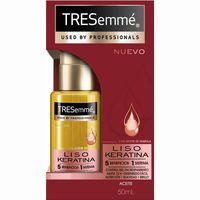 Aceite color liso keratina TRESEMMÉ, dosificador 50 ml