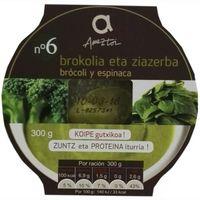 Crema de brócoli-espinaca AMEZTOI, bol 300 g