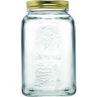 Bote conservas de cristal BORMIOLI, 1,5 litros