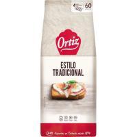 Pan tostado tradicional ORTIZ, 60 rebanadas, paquete 648 g