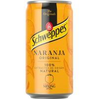 Refresco de naranja SCHWEPPES, lata 25 cl