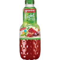 Nectar light de frutos rojos GRANINI, botella 1 litro