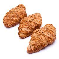 Croisssant multicereal-mantequilla EROSKI, 4 uds., bandeja 240 g