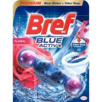 Limpiador wc poder activo azul floral BREF, pack 50 g