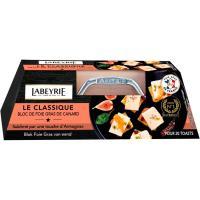 Bloc de foie gras de pato LABEYRIE, blister 120 g