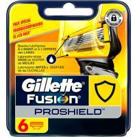 Cargador Fusión Proshield GILLETE, pack 6 unid.