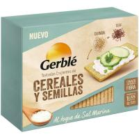 Tostada de quinoa-teff GERBLÉ, caja 100 g