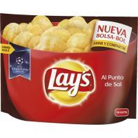 Patatas fritas al punto de sal LAY`S, bolsa bol 200 g