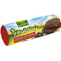 Galleta Crocant chocolate GULLÓN Vitalday, paquete 280 g