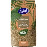 Azúcar moreno integral con stevia SIDUL, paquete 500 g