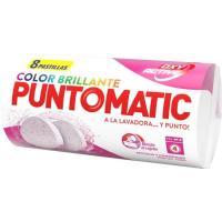 Detergente color en pastilla PUNTOMATIC, paquete 8 uds.