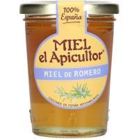Miel de romero EL APICULTOR, frasco 250 g