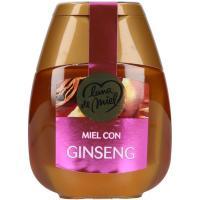 Miel con ginseng LUNA de MIEL, dosificador 250 g