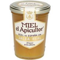 Miel con jalea real EL APICULTOR, frasco 250 g