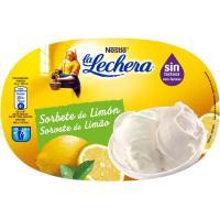 Sorbete de limón sin lactosa LA LECHERA, tarrina 657 g