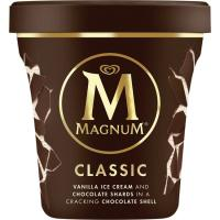 Helado classic MAGNUM, tarrina 297 g