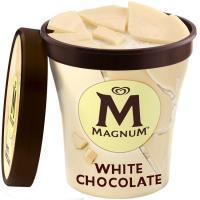 Helado white MAGNUM, tarrina 297 g