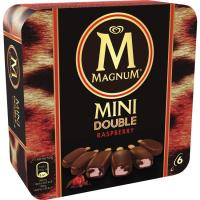 Bombón Mini doble Raspberry MAGNUM, 6uds, caja 300 g