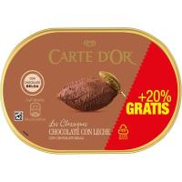 Helado de chocolate CARTE' DOR, tarrina 750 g