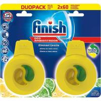 Ambientador lavavajillas limón FINISH, pack 2 unid.