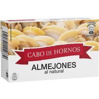 Almejones al natural CABO DE HORNOS, lata 111 g