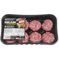 Mini hamburguesa de vaca BIKAIN, 8 uds., bandeja 240 g