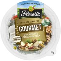Ensalada Gourmet nueces y queso cabra FLORETTE, bowl 180 g