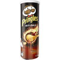 Patatas Hot&Spicy PRINGLES, tubo 190 g