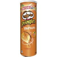 Patatas Paprika PRINGLES, tubo 190 g