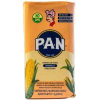 Harina de maíz amarilla PAN, paquete 1 kg