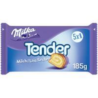 Tender de leche MILKA, pack 5x37 g