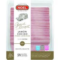 Jamón cocido bajo en grasa-reducido en sal NOEL, sobre 170 g
