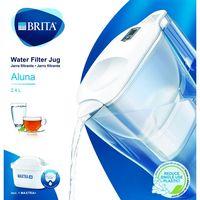 Jarra Aluna blanca con 1 filtro Maxtra, BRITA, 1uds+1uds