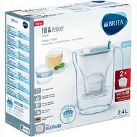 Jarra Style azul-2 filtros Maxtra BRITA, pack 1 unid.