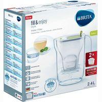 Jarra Style lima-2 filtros Maxtra BRITA, pack 1 unid.