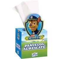 Pañuelo facial Patrulla Canina COLHOGAR, caja 48 unid.