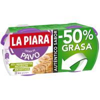 Paté de pavo LA PIARA, pack 2x75 g