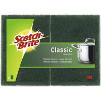Estropajo verde SCOTCH-BRITE, pack 2 unid.
