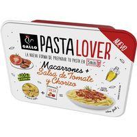 Macarrones con tomate-chorizo Gallo PASTALOVER, bandeja 180 g